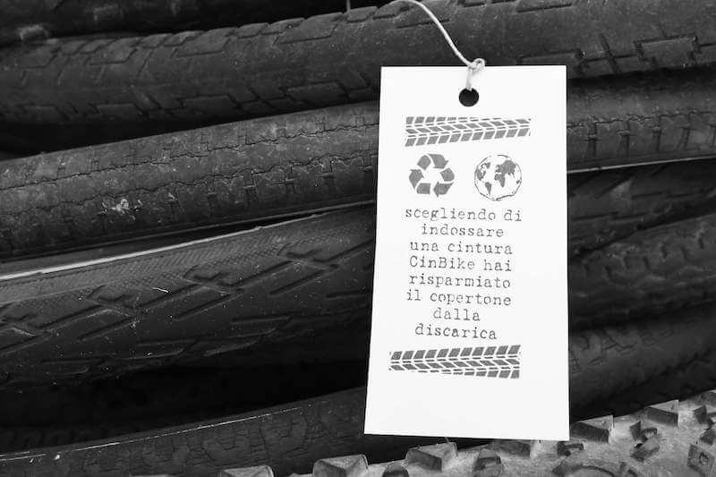 CinBike: riuso creativo dei copertoni di bicicletta